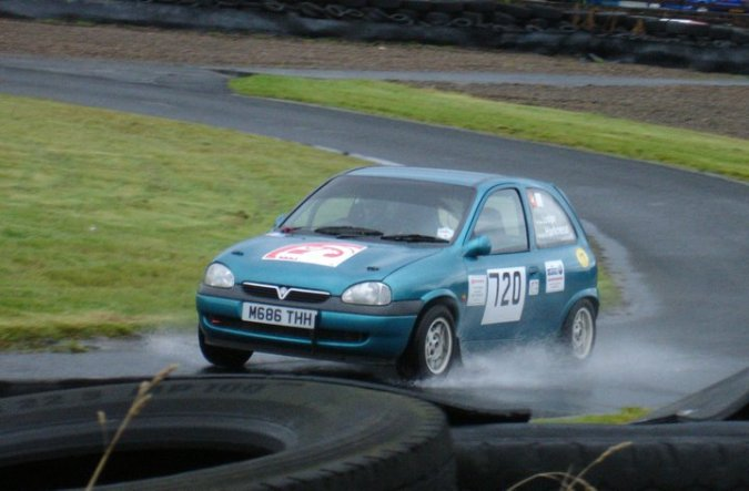 Caroline Lodge in the Corsa