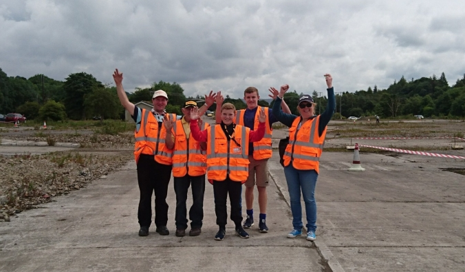 Happy Group Of Marshals